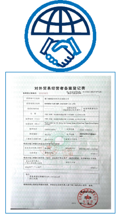 Foreign trade operation permit