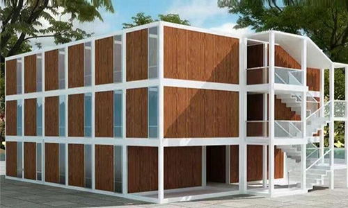 Container house for accommondation