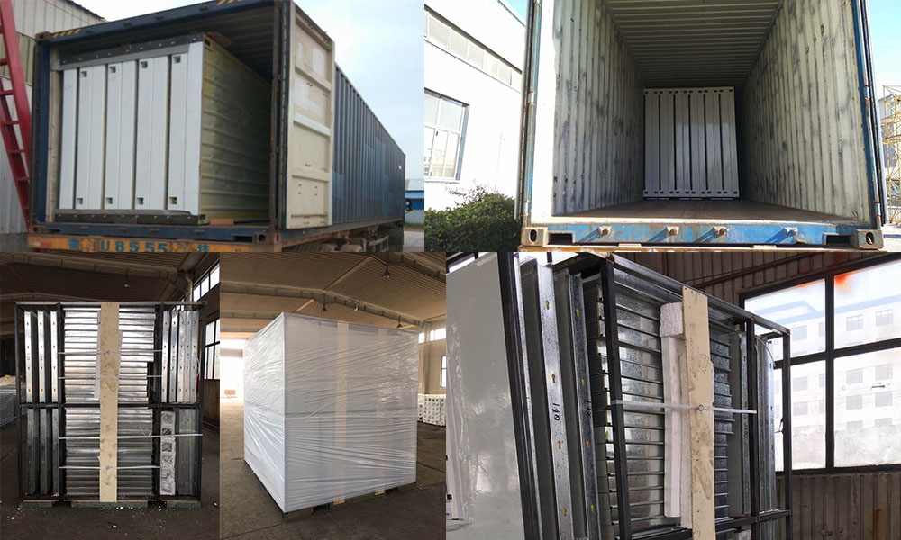 Container house shipment details