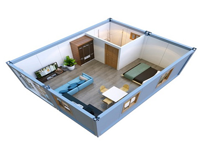 Container Living homes