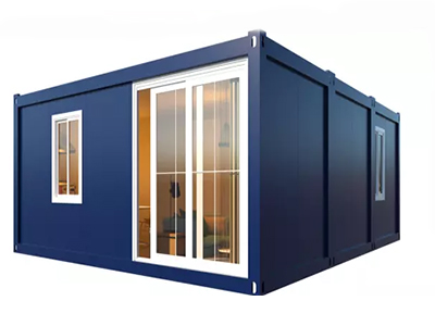 Pack mobile container house